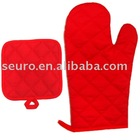 oven glove and mat ,microwave oven gloves,kitchen oven glove,work glove,oven mitt,oven mitten,heatproof oven glove,safety gloves