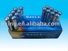 OEM metal top AA carbon zinc dry battery