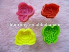 2012 new animal silicone cake plunger cutter pie crust cutters biscuit mold