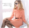 2012 Europe designing office ladies sping blouse