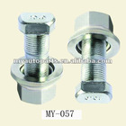 Front Hub Bolt with Nut & Washer For Benz Actross