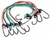 Adjustable latex bungee cord