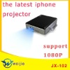 the latest the smallest support 1080P mini projector for iphone