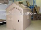 cardboard playhouse,corrugated cardboard play house