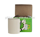 New arrival Animal handle mug, Sublimation mug for sale, coated mug, mug for photo printing