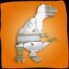 dinosaur animal sticker for children