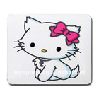Cute Hello-kitty neoprene funny mouse pad