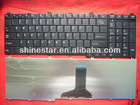 US layout replacement laptop keyboard for TOSHIBA L650 L655 L670 C650 C655 C660