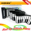 88 keys mini silicone keyboard roll up electronic piano