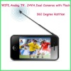 "cheapest! 3.5"" screen with wifi TV,camera android large screen cell phone,mobile phone"