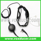 Police throat microphone for Kenwood wireless radio TK-208 TK-308 TK-3118 TK-3107
