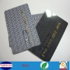 pvc id cards embossing