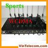 3G WCDMA 8port fixed wireless terminal gateway IMEI change one year warranty