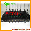 3G WCDMA 8port fixed wireless terminal gateway IMEI change one year warranty