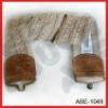 short broad cotton web woven spandex belt