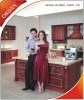 High-quality Solid Wood Kitchen Cabinet at a Competitive Price