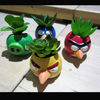Artificial cactus plants-catoon ceramic