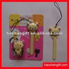 Cute Cartoon silicone bobbin winder for earphone
