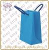 blue dignity paper bag