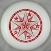 175g Professional Ultimate Frisbee-Five Star White
