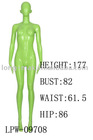 Abstract display female full body mannequin