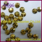 Wholesales Supper shining ss4, ss6.ss8,ss10.ss12,ss16,ss20,ss30,ss34,ss40 Gold color DMC hotfix rhinestone
