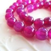 faceted round agate loose beads
