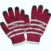 100% acrylic smart phone gloves