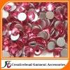 rose pink flat back rhinestones