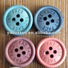 YD-WN4 wood craft buttons