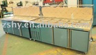 Stainless steel Refrigerated Counter top salad bar
