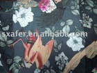 JC 100% Cotton voile printed fabric