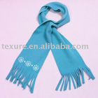 children's scarf with fringes