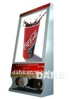 Advertisement Shoe Cleaner Machine and scrolling advertising light box-DH-DG700