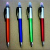 plastic 2 in 1 highlighter ballpoint pens