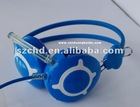 Audio music headphone with 3.5mm plug that ca suit for all kinds of radio and player