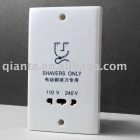 hotel shaver socket(wall shaver socket/electrical shaver only socket)