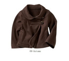 Children wool/polyester winter coat