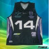 fashion sublimated basketball jersey