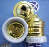 E27/E26 copper lamp socket