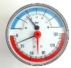 Temperature gauge And Pressure gauge