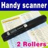 Color Portable Cordless Handy A4 Scanner