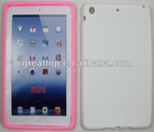 high quality soft silicon case for ipad mini