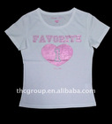 100%cotton t shirts for women ZZH513