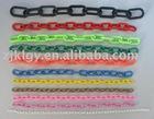warning limit plastic link chain