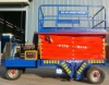 China ISO9001:2008 aerial angle working platforms trailer wheel lift