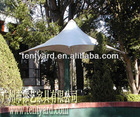 white deluxe outdoor party or event pagoda parasol umbrella