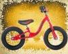 XMN-BB-002 Red Princess balance bike Red