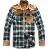 Fashionable casual shirt design long sleeve shirt for men