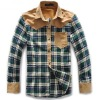 Fashionable casual shirt design long sleeve shirt for men